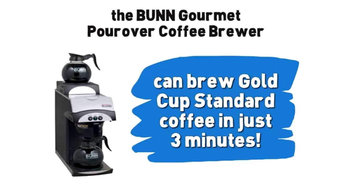 My Bunn Coffee Maker Not Working : BUNN 392 Gourmet Pourover Coffee Brewer with Two Warmers Review - YouTube