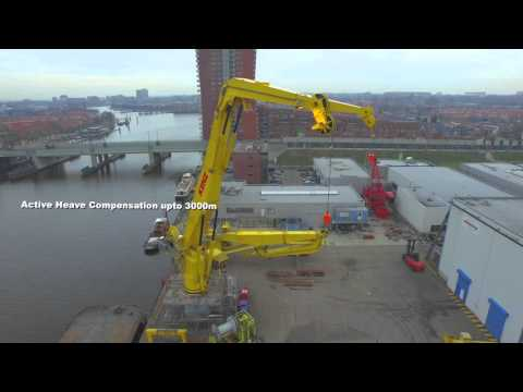 Kenz knuckle boom crane