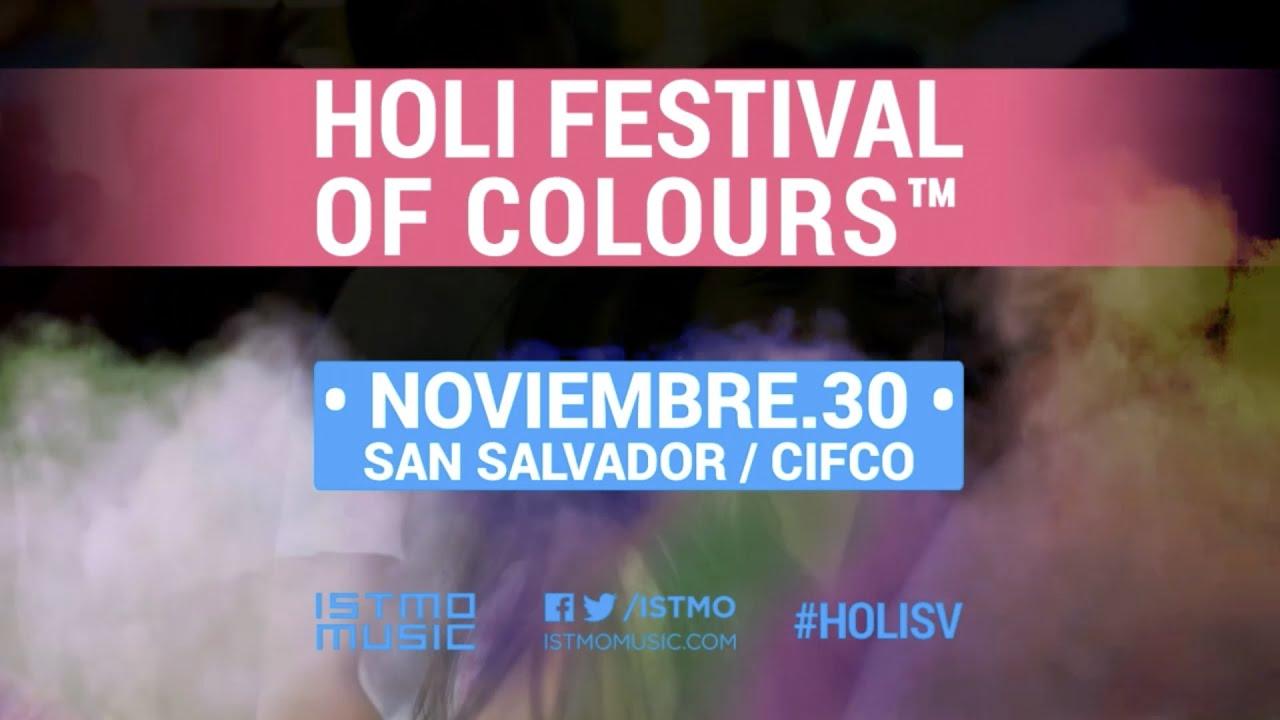 Holi Festival Of Colours El Salvador - Official Aftermovie