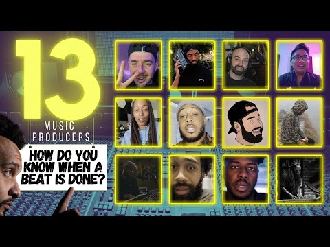 Music Producers: 13 Ways To Know When Your Beat Is DONE And Ready To Release