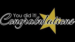 Congratulations Grade 12 - Teachers Inspirational Speech