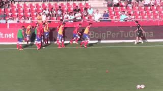 CALENTAMIENTO PARTIDO Girona FC
