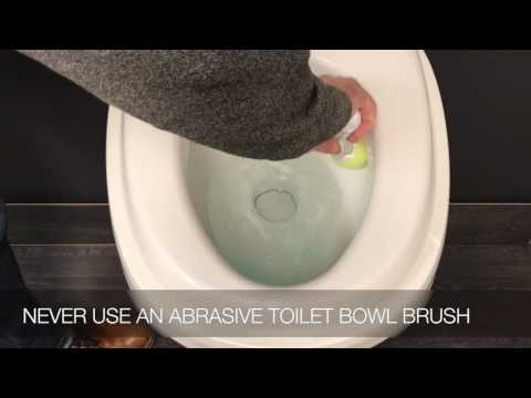 Cleaning Your RV Toilet Bowl While Treating your Black Water Holding Tank