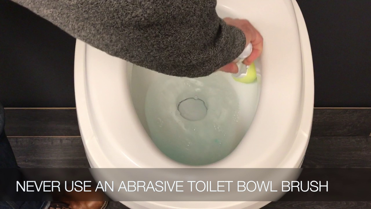 Cleaning Your RV Toilet Bowl While Treating your Black Water Holding ...