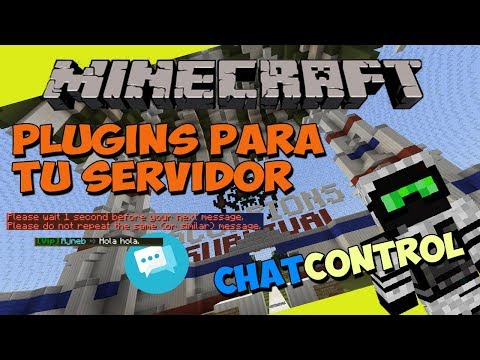Minecraft: Plugins para tu Servidor - ChatControl (Modifica y Controla el Chat!)