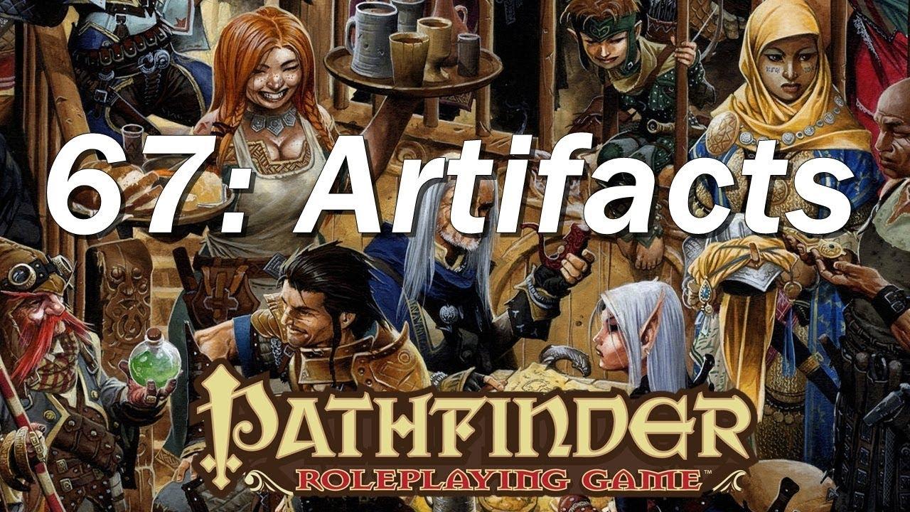 PATHFINDER Roleplaying Game, RPG Basic Rules ep 67 | Major ...