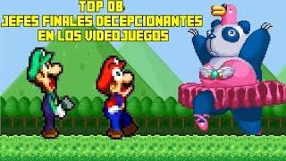 Top 08 Jefes Finales más Decepcionantes en los Videojuegos - Pepe el Mago