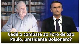 Fuja dos melancias que o cercam, presidente. Apoiamos o Bolsonaro que combata o comunismo. FIM