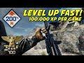 Battlefield 4: How To Level Up Fast and Easy! (100,000 - 200,000 Points Per Round)