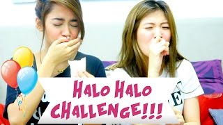 Halo-halo Challenge ft. Mikee Agustin