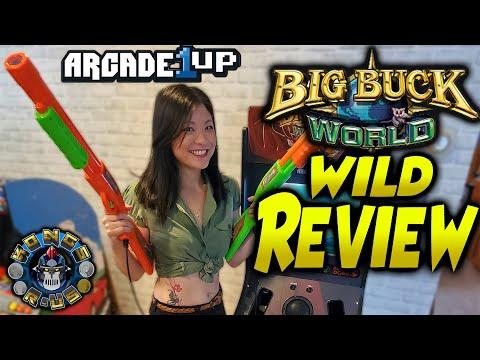 Arcade1up Big Buck World WILD REVIEW by a Big Buck Girl (Hunter|Pro|Open Season|Safari|Outback) from Kongs-R-Us