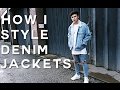How To Style Denim Jackets | feat. Sicckm8