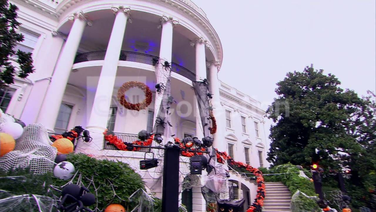 White House Decorated For Halloween Part - 22: DC:WHITE HOUSE HALLOWEEN DECORATIONS