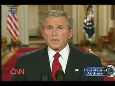George W Bush bail out plan - Part 1 Sept 24, 2008