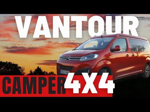 Citroen Spacetourer CAMPER 4x4 by Tinkervan [REVIEW] Furgoneta CAMPER 4x4 | Dangel 4x4