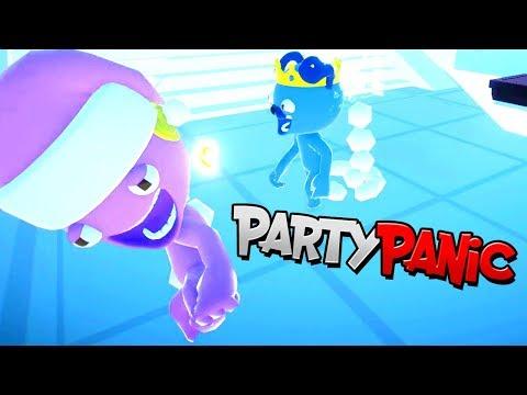 LET'S PLAY PARTY PANIC 👀 ADVENTURE | RADIOJH GAMES & MICROGUARDIAN