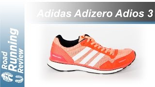 Adidas Adizero Adios 3 Review