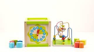 """Обзор деревянного универсального куба-лабиринта, """"Мир деревянных игрушек"""""""