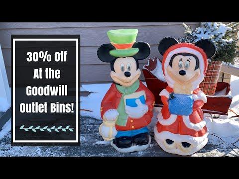 $20 Goodwill Outlet Bins Thrift Haul! 30% Off Today! Impromptu Bins Trip!