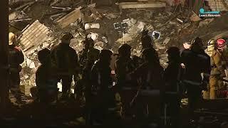 Смотреть видео Взрыв на заводе «Авангард» онлайн