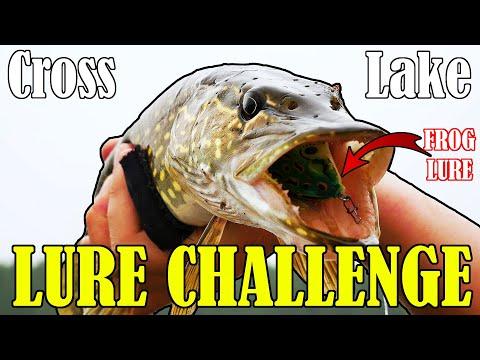 Cross Lake, Alberta - Pike Fishing - 1v1 Lure Challenge