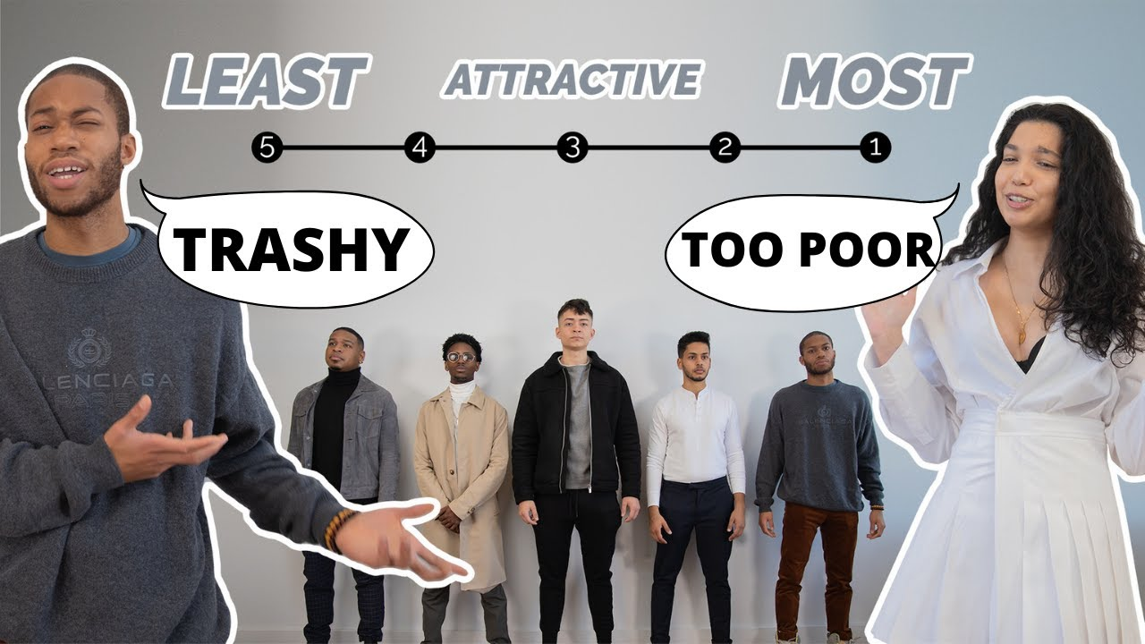 5 Girls Vs 5 Guys Rate Each Other On Attractiveness