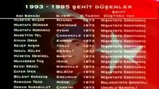1993 - 1995 ŞEHİTLERİMİZ - Cihad Yapım Grafik