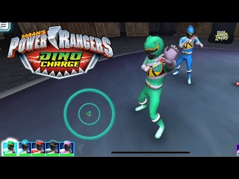 Power Rangers Dino Charge Rumble   PREPARE FOR AN ICEAGE Challenge!
