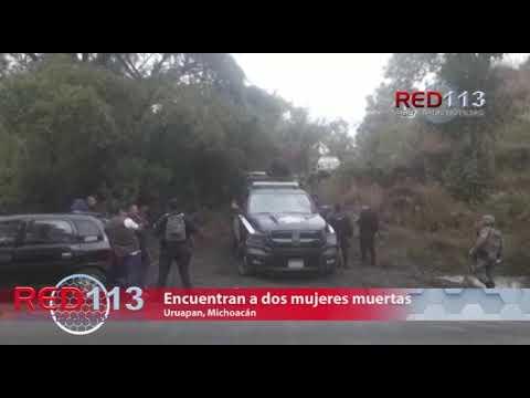 VIDEO Encuentran a dos mujeres muertas