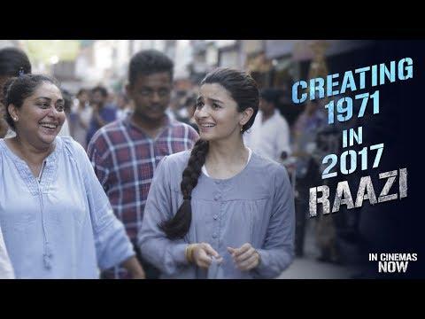 Creating 1971 in 2017 | Raazi | Alia Bhatt | Vicky Kaushal | Meghna Gulzar
