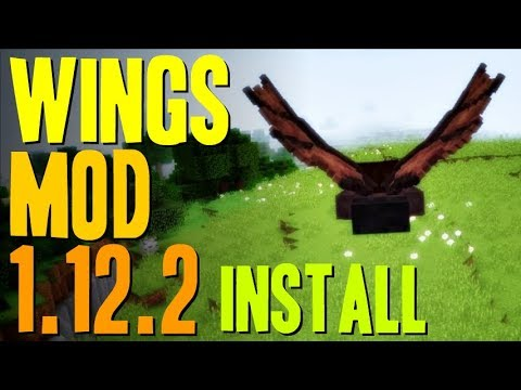 WINGS MOD 1 12 2 minecraft - how to download and install Wings mod 1 12 2  (with forge on Windows)