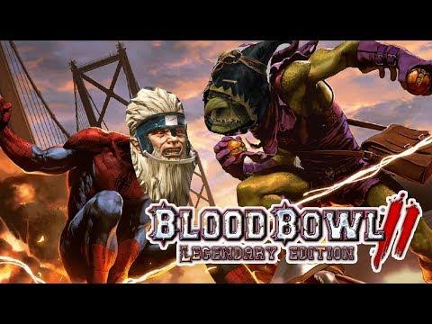 Norse(Turin) vs Goblins (The Gobbo King) | Blood Bowl 2 - Wild Hogs Season 2 Ranked League Week 4