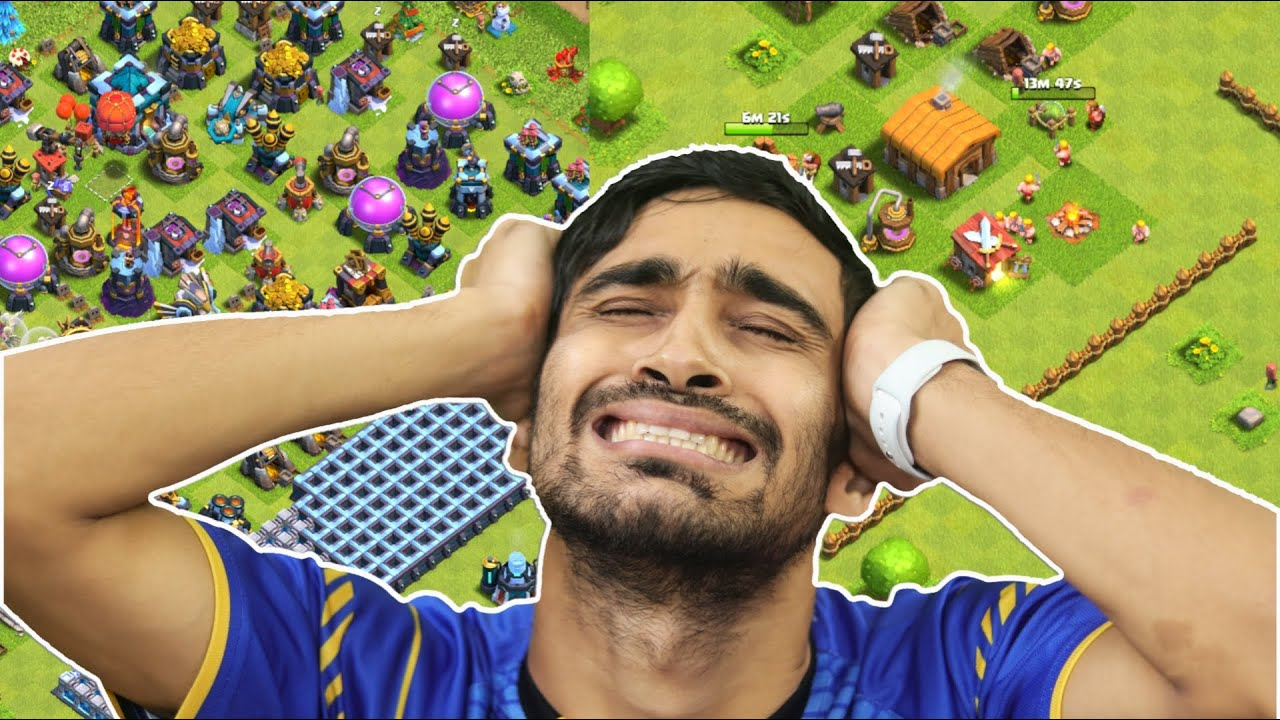 I Started An Impossible COC Task ! Clash of Clans............