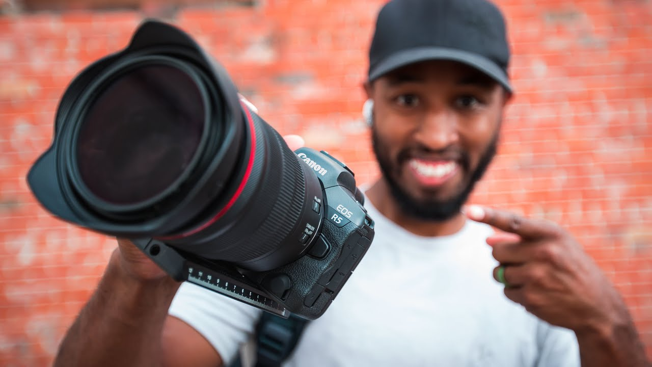Are People Over Reacting about the R5? | My First 6 Hours with the Canon EOS R5