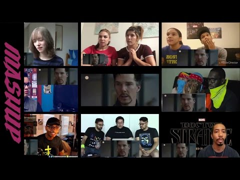 Doctor Strange | Official Trailer 2 - Reactions Mashup