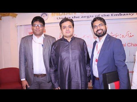 Abhisar Sharma Interactive Talk on Social Media in Doha, Qatar