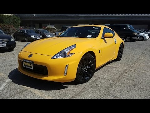 2017 Nissan 370z Coupe Test Drive And Complete Feature Walkthrough