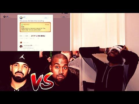 Drake Threatened to Kill Kanye West!!!????!!! Kanye West vs. Drake Beef!!! (Reaction/Rant)