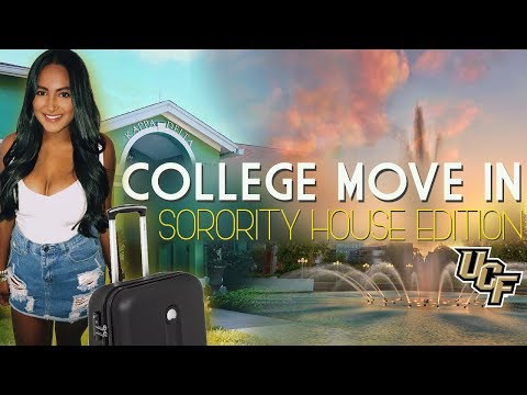 UCF MOVE IN VLOG | SORORITY HOUSE EDITION
