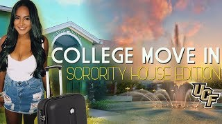 UCF MOVE IN VLOG | SORORITY HOUSE EDITION thumbnail