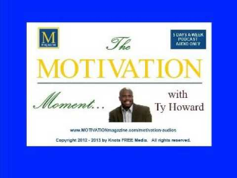 Be A Determined Soul - The MOTIVATION Moment with Ty Howard - 02/07/2013
