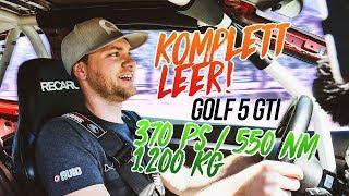 370 PS bei 1.200 Kg im Golf 5 GTI