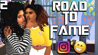 THE SIMS 4 | SIMSELF - ROAD TO FAME | WE KISSED?! | PART #2