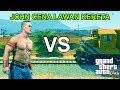 John Cena Vs Kereta  Lihat Hasilnya!!   Gta 5 Mod Indonesia #6 video