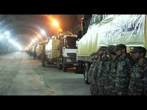 Iran broadcasts rare images of underground missile bases