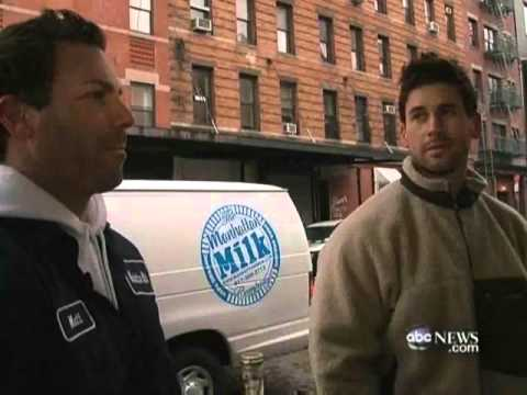 Dairy Delivery  The Milkman Is Back Video   ABC News MP4
