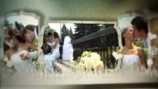 Свадебный альбом. Заставка для свадебного клипа