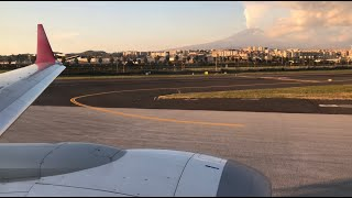 Air Italy Boeing 737 Max 8 AMAZING Taxi & Take Off from Catania Airport [LICC] !!  1080p HD