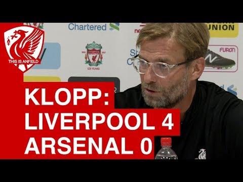 Liverpool 4-0 Arsenal: Jurgen Klopp Post Match Press Conference