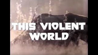 This Violent World (1976) - Trailer [edited]
